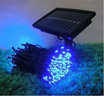 100LED multicolor Outdoor Yellow Solar LED Light String Fairy Christmas Party Solar Garden decoration Lamps luminaria solar(China (Mainland))