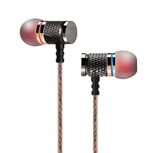 KZ-ED2 enthusiast bass ear headphones copper forging 7MM shocking anti-noise microphone sound quality