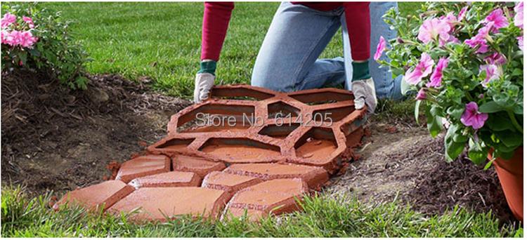 Форма для садовой дорожки фото