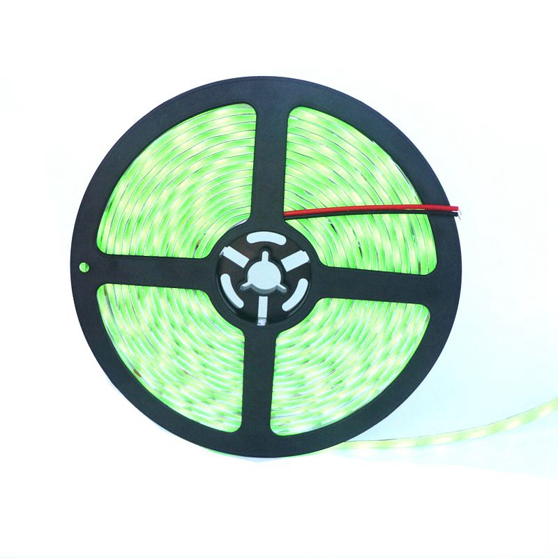 New LED Colourful Fluorescent strip SMD 5050 DC12V 60 leds/m,IP65 waterproof Neon LED strip,50m/lot(China (Mainland))