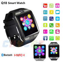 2016 Bluetooth NFC Smart Watch Q18 waterproof Support SIM TF card Camera Smartwatch For IOS Android Phone PK Q18S U8 GV18(China (Mainland))
