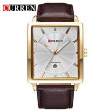 Curren 8117 Luxury Brand Genuine Leather Strap Analog Display Date Men's Quartz Watch Casual Watch Men Watches relogio masculino(China (Mainland))