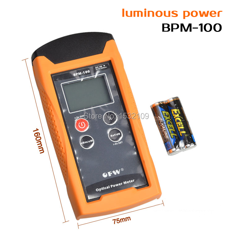 Portable Optical Power Meter- Sensitive, LCD Display -70~+3dBm, With FC,SC,ST Connector<br><br>Aliexpress