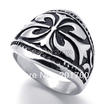 Punk rock accessories 316l stainless steel finger Vintage rings ring free  shipping 75504