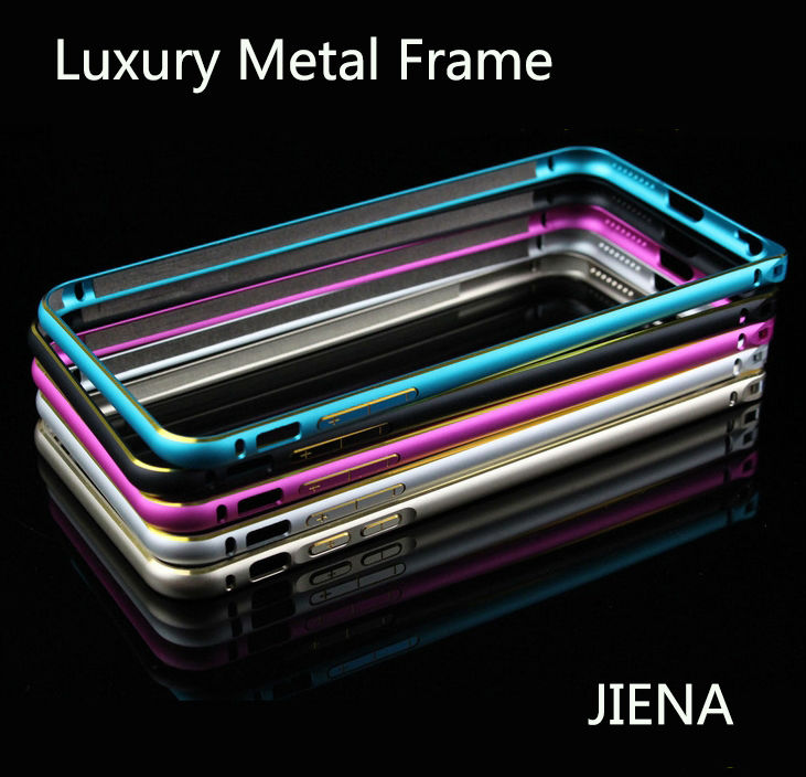 6s Metal Frame Aluminum Case For Iphone 6 6s Slim Protective Cell Phone Skin Hard Cover With Buckle Carry Case For Iphone 6 6s(China (Mainland))