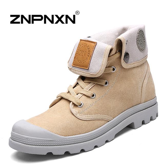 Znpnxn 2016 новых осенью мужчин женская обувь мода на открытом воздухе туфли на платформе ...