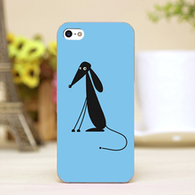 PZ0007-2-9 For Cute animal Design cellphone transparent case cover for iphone cases for iphone 4 5 5c 5s 6 6plus