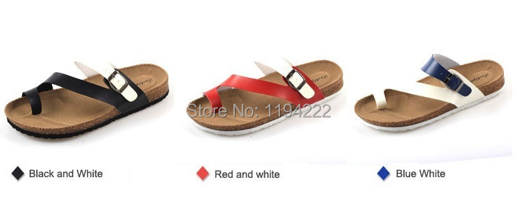 Women sandals 2014 Summer flats mixed colors women(older girls) & men(older boys)-Freeshipping - Summer's Leisure Shop store
