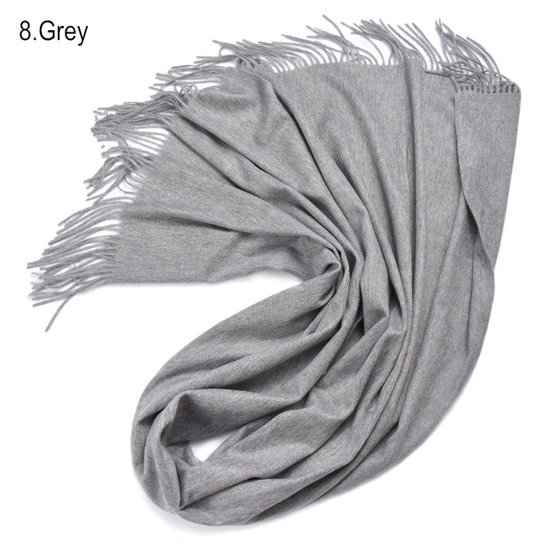 Fashion Autumn Winter Brand Cashmere scarf Pashmina  Water ripples thick  Warm Multi Colors Shawl Soft Scarves Free Shipping