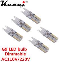12PCS 64LED 3014SMD LED G9 LED lamp light 110V 220V Replace 100W halogen lamp 360 Beam Angle LED Bulb lamp Candle Luz(China (Mainland))