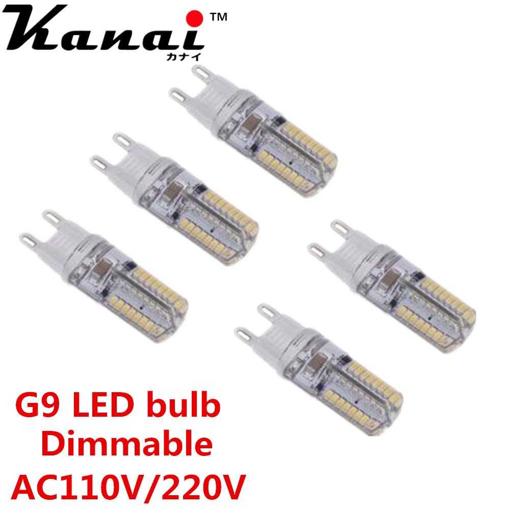 5pcs mini g9 dimmable lampada led light 3w 3014 smd 64 leds crystal corn bulb lamp energy saving. Black Bedroom Furniture Sets. Home Design Ideas