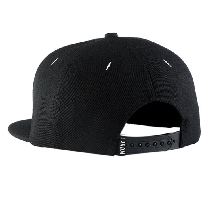 Unisex Men's Black Adjustable Snapback Baseball Cap Outdoor Sports Hip-Hop Hat Perfect Gift(China (Mainland))
