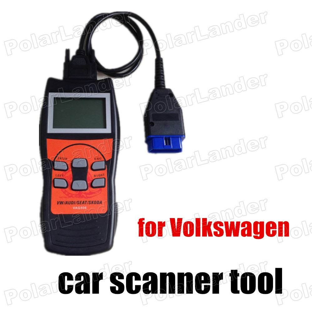 high quality VAG506 OBD2/EOBD2 Scanner VAG5053 For Audi for Volkswagen for Skoda car diagnostic tool free shipping <br><br>Aliexpress