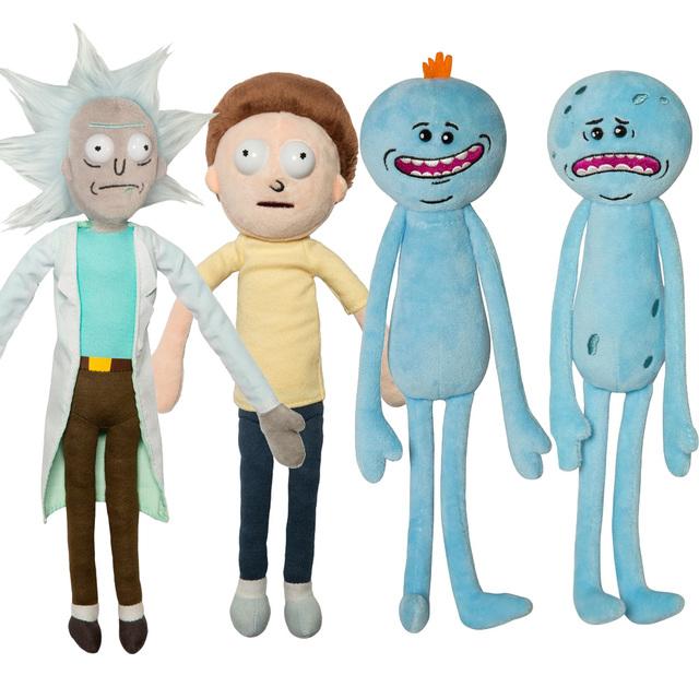 Rick and Morty Happy & Sad Meeseeks Stuffed Doll Plush Toy