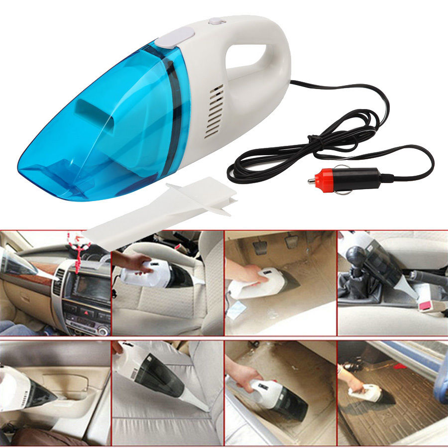 -90% OFF Car Auto Dust Dirt Wet Dry Handheld Portable Vacuum Cleaner New Dust Dirt Garbage One Piece(China (Mainland))