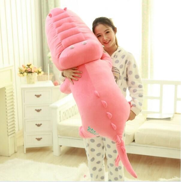 big pink lovely crocodile toy plush cartoon crocodile doll cute crocodile toy gift about 120cm<br><br>Aliexpress