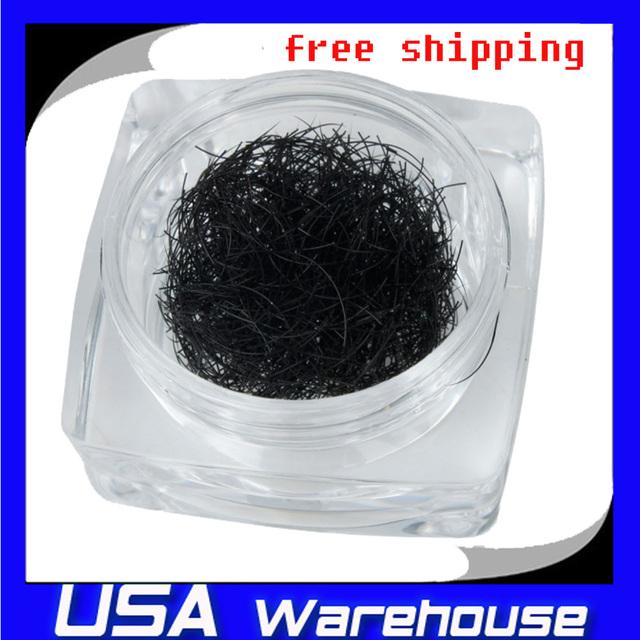 Free Shipping 10mm Fashion Curly Mink Hair Eye Makeup False Extension Eyelashes  eyeshadow makeup B-001  ship from USA