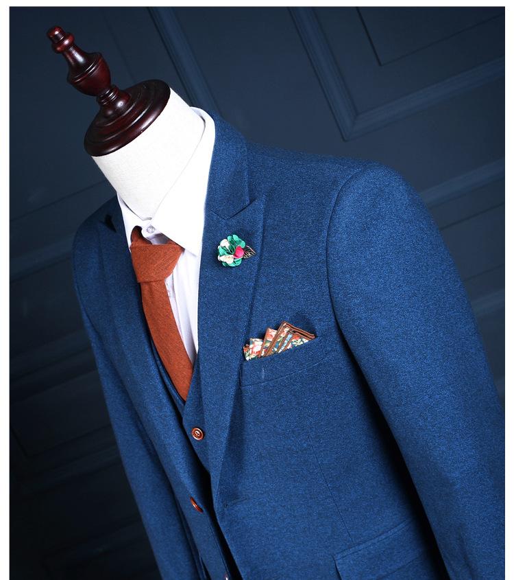 HTB18hNYQXXXXXa XFXXq6xXFXXXY - La MaxPa (jacket+pants+vest) New fashion men suit spring autumn blue suits casual slim fit prom groom party man wedding suit