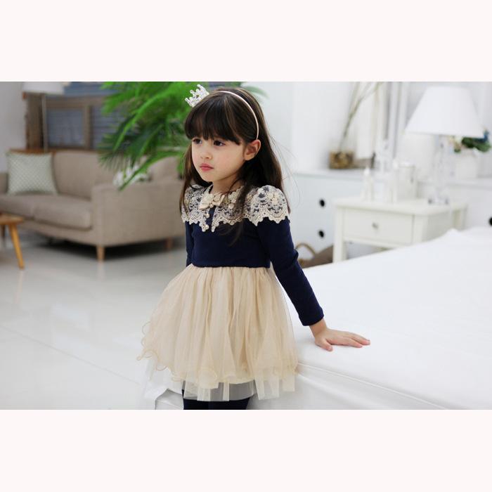 5pcs/lot Spring Autumn Princess Cinderella Dress Vestido Menina Toddler Girl Dresses Kids Clothes Girls Robe Fille Enfant(China (Mainland))