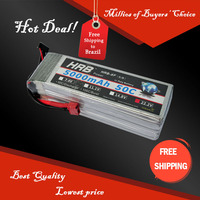 Free Shipping HRB Wholesale Price 22.2V 5000mah 50C Max 60C Toys & Hobbies For Helicopters RC Models Li-polymer Battery