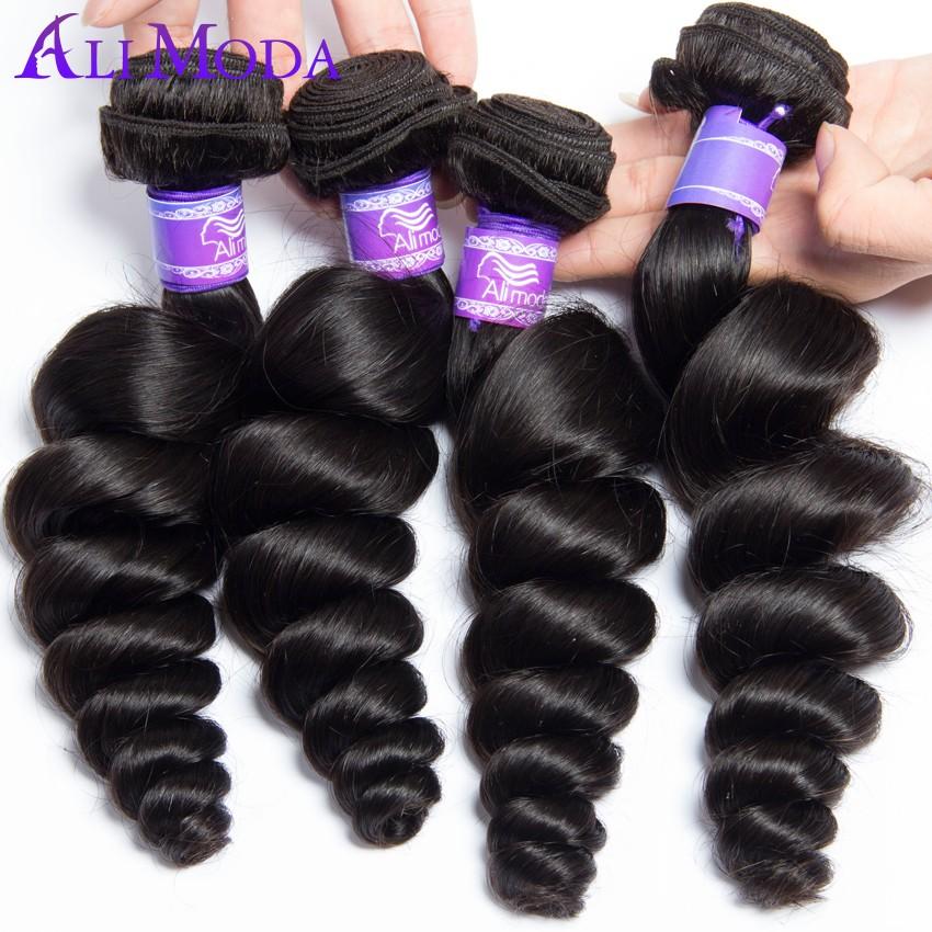 Ali moda hair Free Shipping 3pcs lot Loose Wave Malaysian Virgin Hair ...
