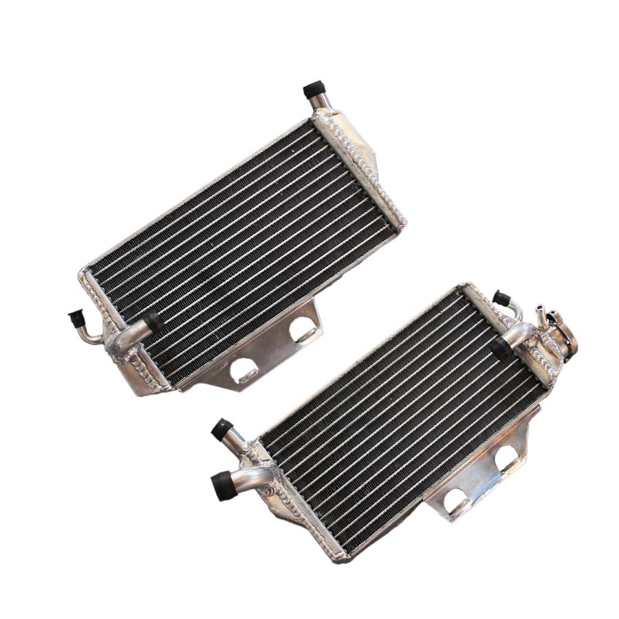 Right+Left aluminum radiator for Honda CR 250 R/CR250R 2005-2007 water box motorcycle replacement parts engine cooling parts<br><br>Aliexpress