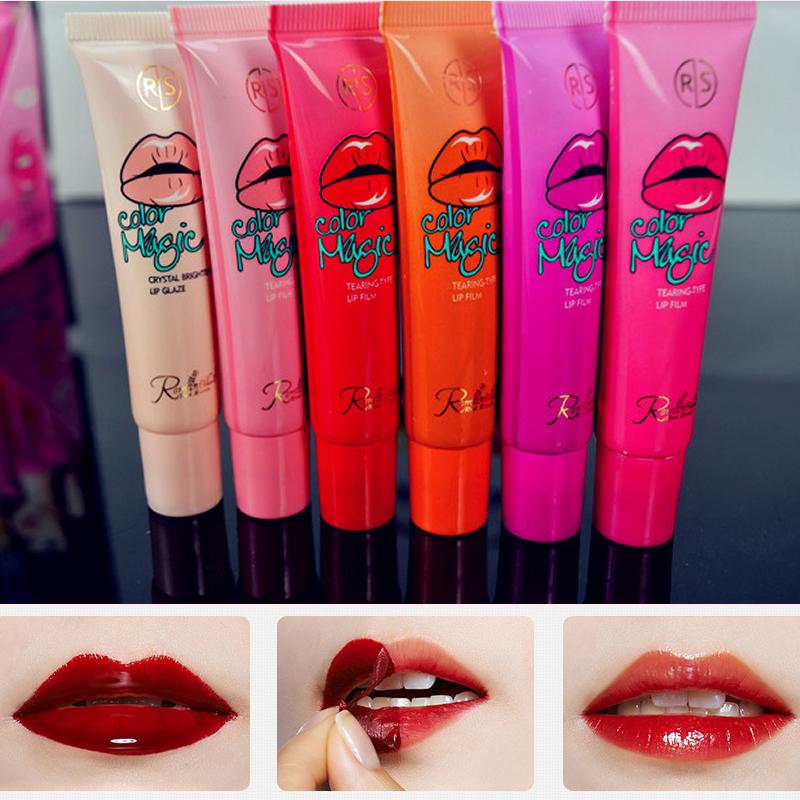 Fashion Sexy Long Lasting Lip Gross Tattoo Sticker Lipstick Waterproof women Girl makeup and cosmetic KH13(China (Mainland))