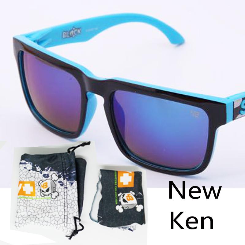 Free Shipping new color helm ken block Sunglasses Sunglasses Men lentes de sol Eyewear Sports oculos de sol lente 12 color(China (Mainland))