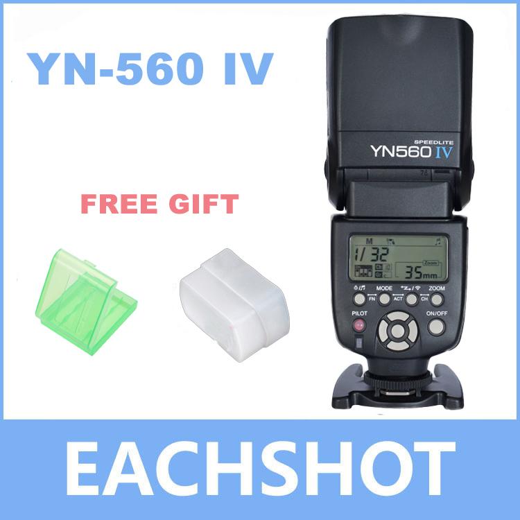 Yongnuo YN-560 IV Flash Speedlite for Canon Nikon Pentax Olympus DSLR Cameras YN560 4 560VI upgrade version of YN560 II YN560III