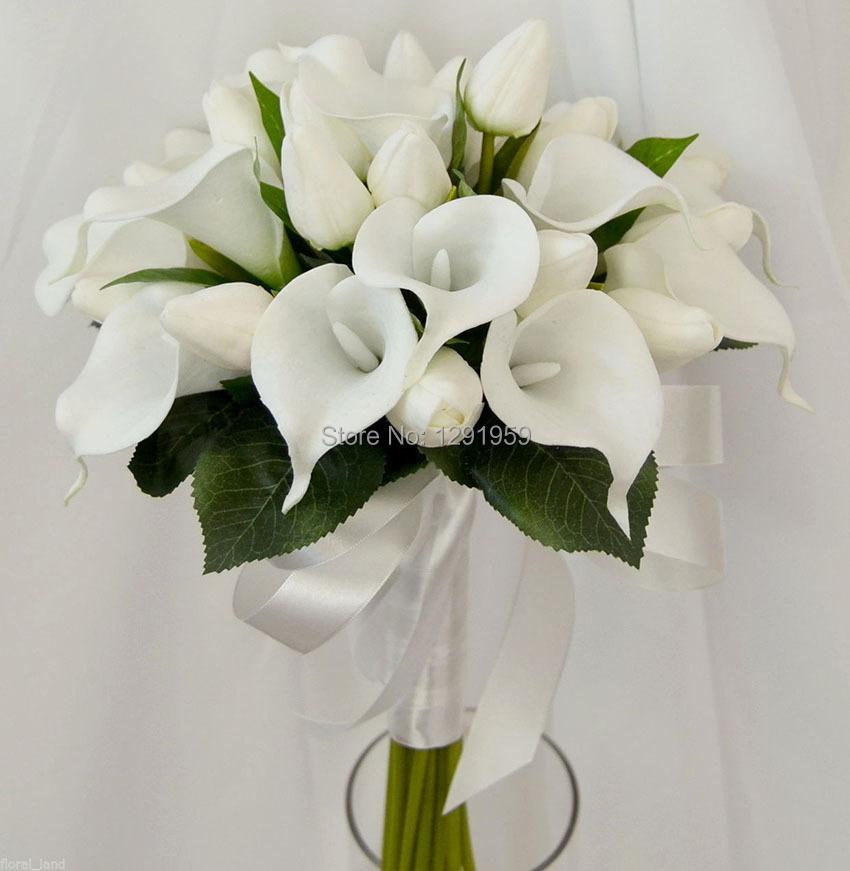 Calla Lily And Tulip Bouquet