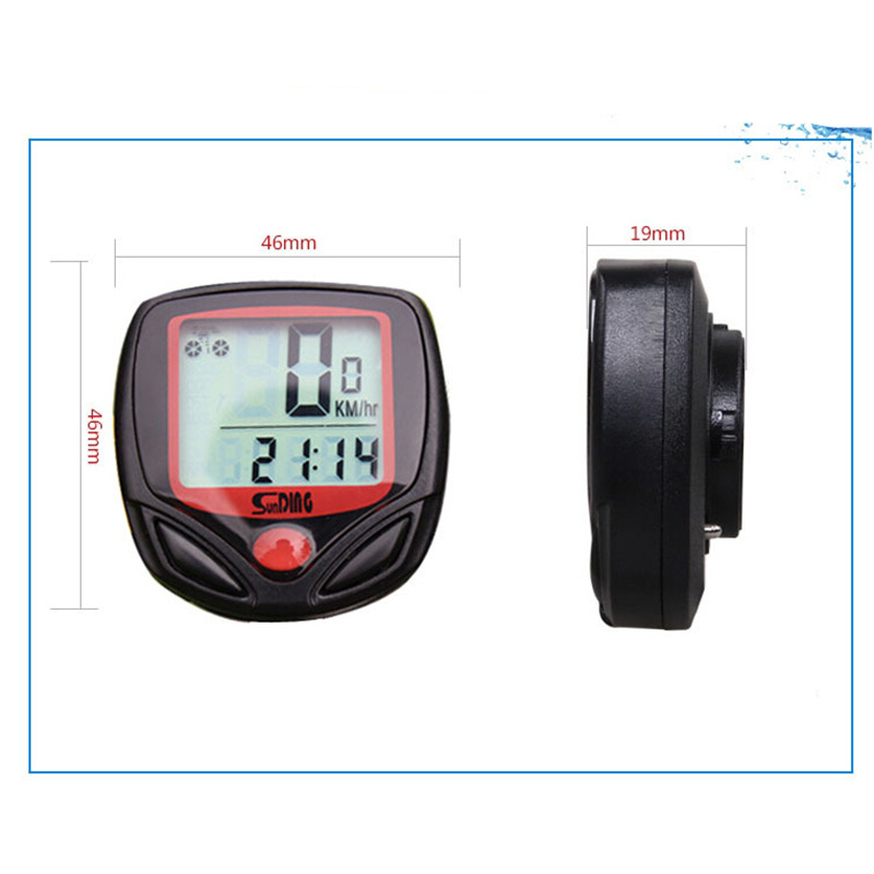 FuLang Bike Computer Leisure 15-Functions Cycling Computer Odometer Speedometer Waterproof MB09(China (Mainland))