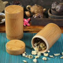 bamboo wooden tea canister straight buckle boxes of storage container small spices organizer with lids cabinet case Portable(China (Mainland))