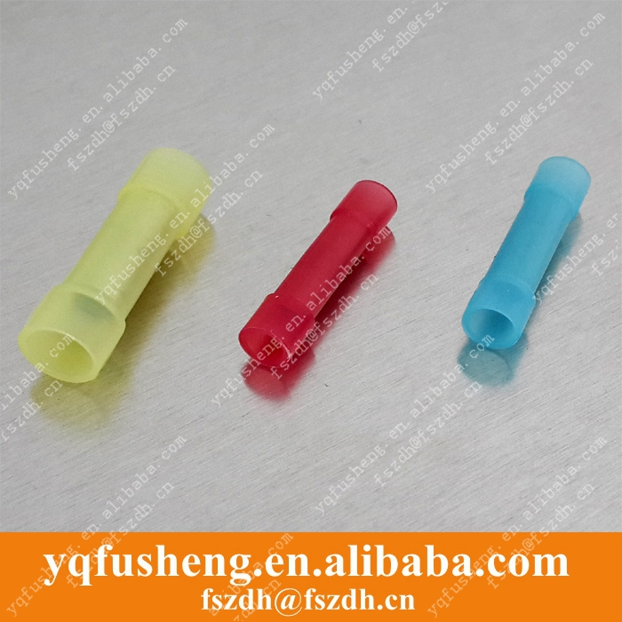 BNYF0.5 full insulated middle joint nylon-insulated butt splices terminals 0.2-0.75mm2,26-22 AWG Wire 20 - Yueqing Fusheng Automation Fixture Factory store