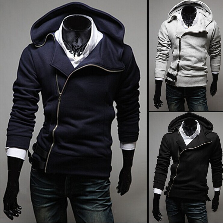 Men's clothing of foreign trade clothing New fashion hooded coat Man cardigan fleece hoodies men moleton masculino(China (Mainland))
