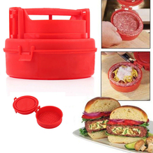 Stuffed Burger Press Hamburger Grill BBQ Patty Maker Juicy As Seen On TV Meat Mold Ground Beef Presses(China (Mainland))