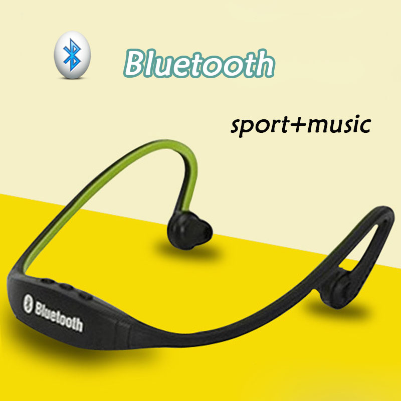 Wireless Sport Earphone For Mobile Phone Music Bluetooth Radio Headset Neckband Running Headphones With Voice Control BH01(China (Mainland))