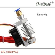 High quality 3D printer accessories the new all metal E3D J head V2 0 Aluminum alloy