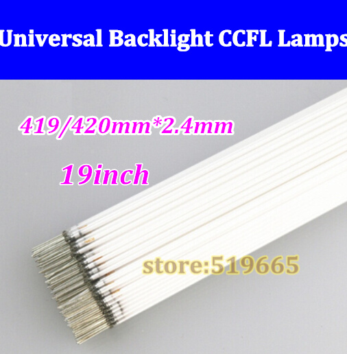 """50pcs High Quality NEW 2.4*419mm 2.4*420mm CCFL tube Cold cathode fluorescent lamps for 19"""" widescreen LCD monitor LCD Lamp(China (Mainland))"""