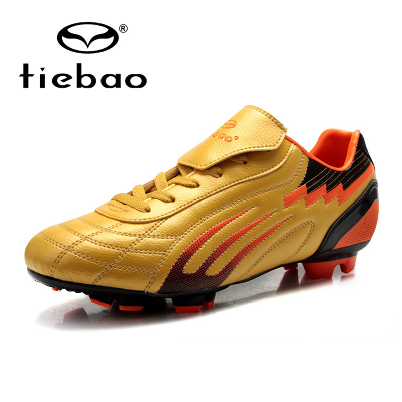 2016 NEW TIEBAO Trainers Sports Sneakers Turf Football Soccer Shoes Rubber Sole Cleats Sneakers Size 39-44(China (Mainland))