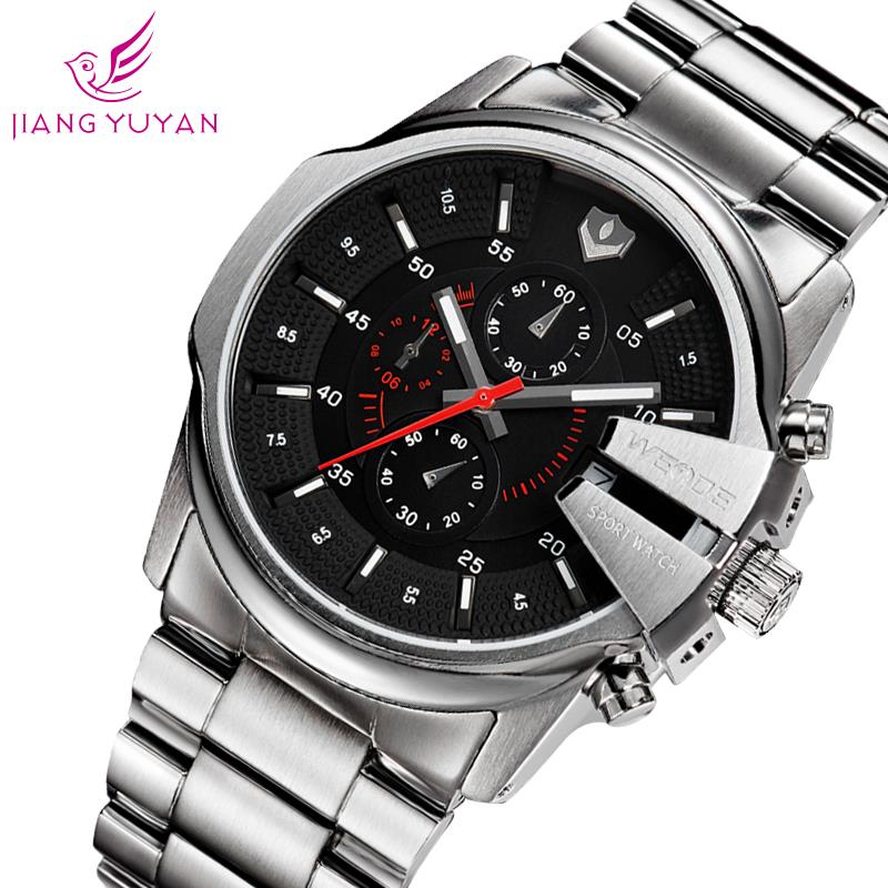 Super Deal Sport Military Waterproof Men Watch Stopwatch Hour Date 30m Water Resistant Quartz Wristwatches Best Gift For Him(China (Mainland))