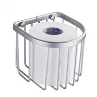 Space aluminum roll paper tube bathroom shelf basket toilet paper holder paper towel holder toilet paper holder