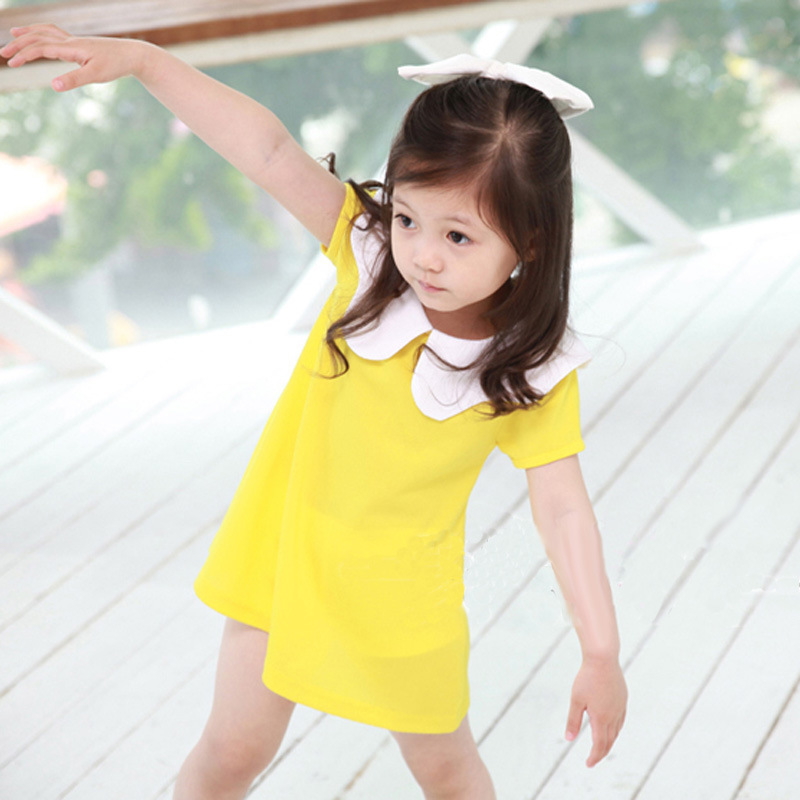 Cute Baby Yellow Dress Cute Girl Yellow Dress