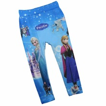 Free Shipping Size L New Hot Sale Children s Printing Leggings Girl s pants Pencil Pant