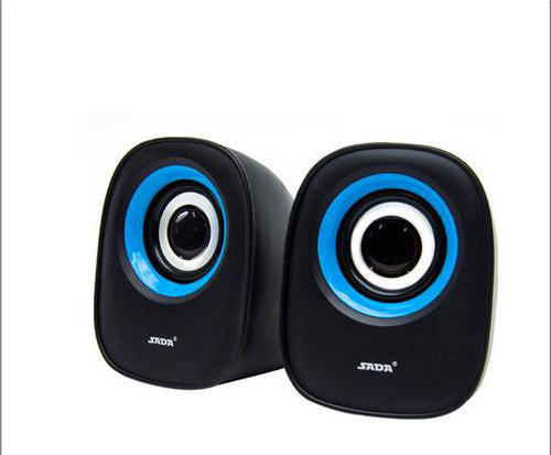 Brand new authentic small speakers SADA laptop computer desktop small speakers Mini USB 2.0 active subwoofer(China (Mainland))