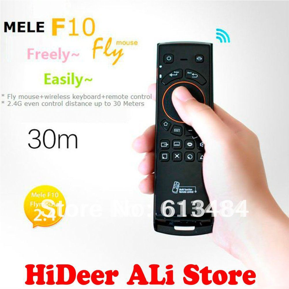 Mele F10 Flying Mouse Air Mouse And Keyboard Remote Controller Three In One For Android TV Use MK808 MK802 UG802 Free Shipping(China (Mainland))