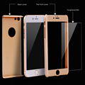 Ultra Thin 360 Case Tempered Glass Screen Protector for Capinhas iPhone6 6S 7 7Plus Phone Case
