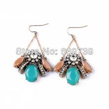 Women Kindom Long Dangle Maid Earrings(China (Mainland))