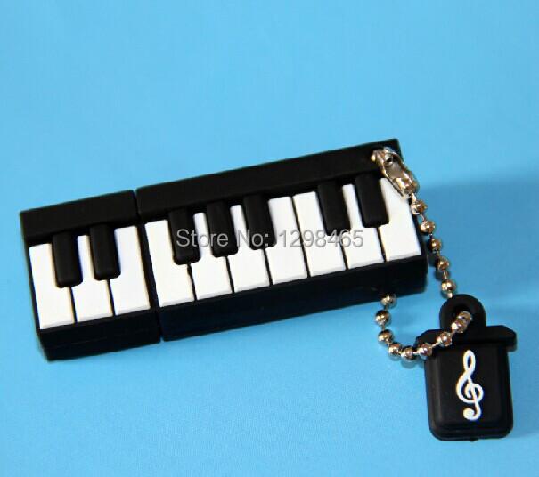 Hot Sale the Piano USB Flash drives 32GB mini pen drive usb flash stick 16GB 8GB 4GB Piano car/thumb/pendrives best Gift(China (Mainland))