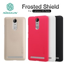 Buy Lenovo K5 Note Case Nillkin Frosted Shield 5.5 inch Hard Plastic PC Back Cover Case Lenovo K5 Note Screen Protector for $7.19 in AliExpress store