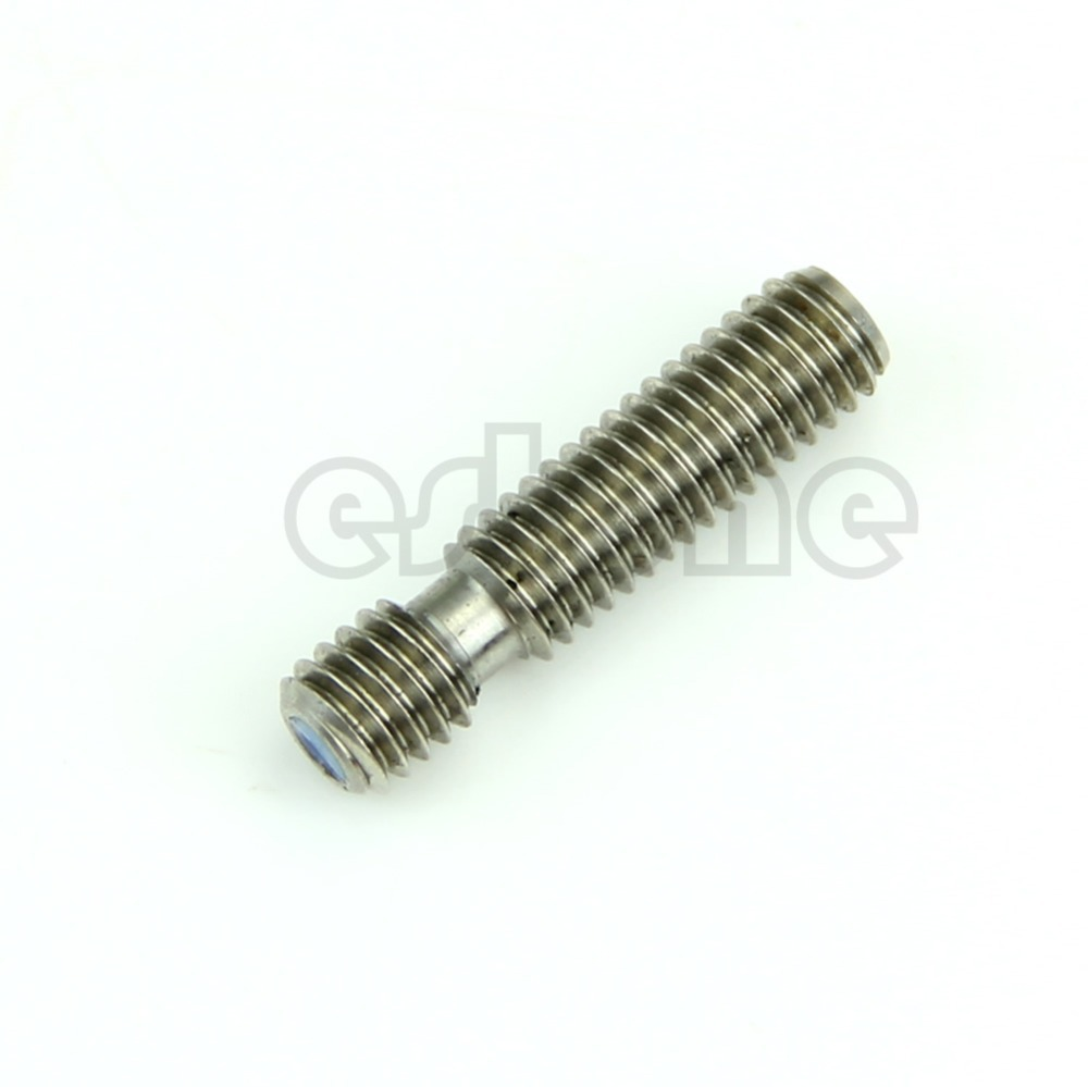 2016 M6x26 Stainless Steel Nozzle Throat For Reprap 3D Printer Extruder Hot End 1 75mm